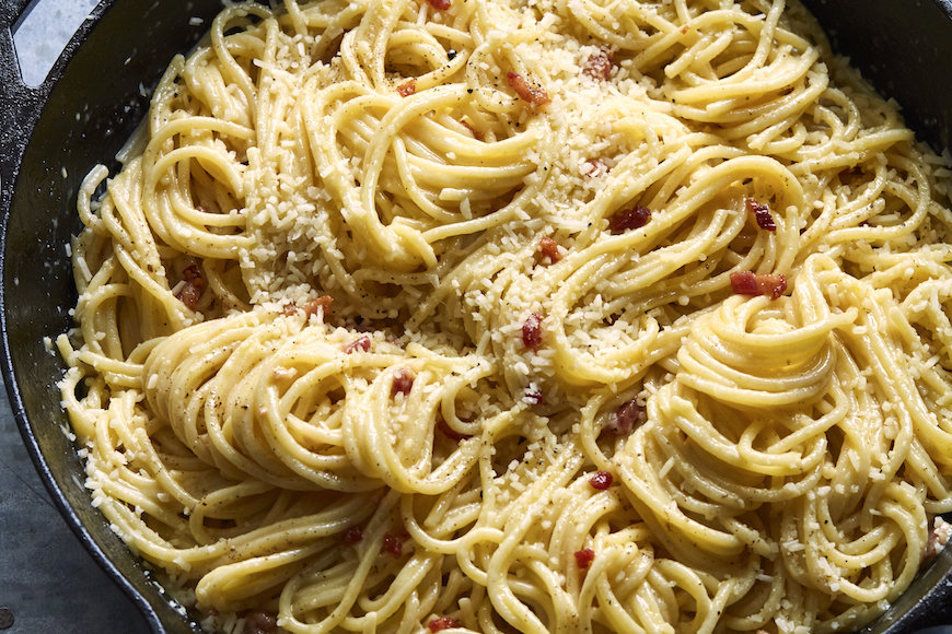 The Perfect Spaghetti Carbonara