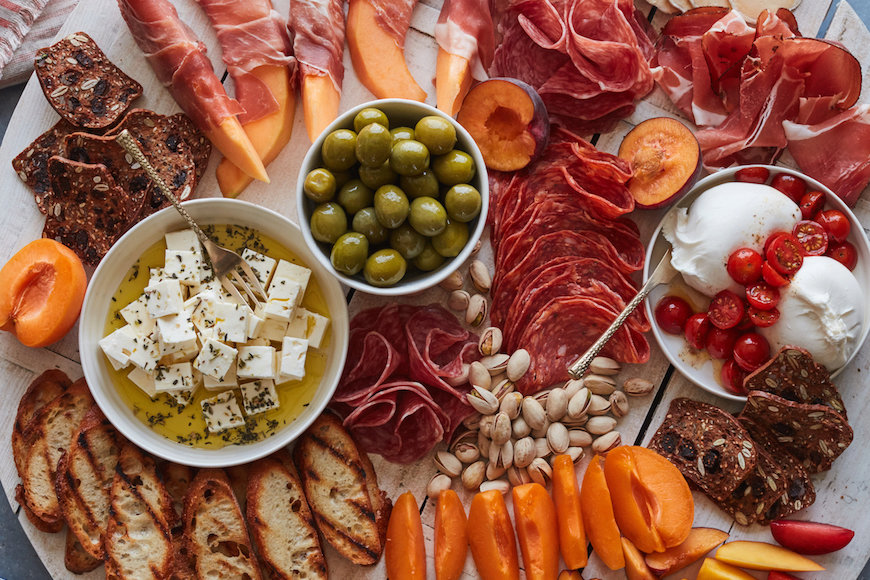 Summer Appetizer Board