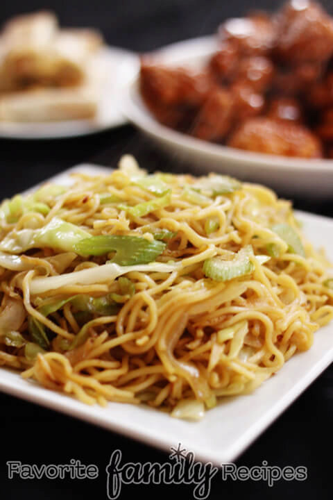 Our Version of Panda Express Chow Mein