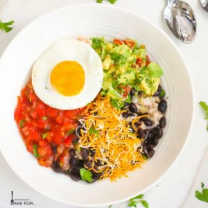 Mexican Breakfast Bowl with Oatmeal
