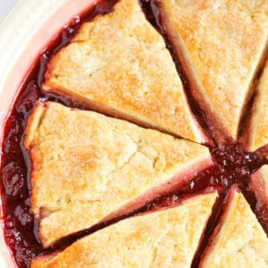Strawberry Biscuit-and-Jam Cobbler