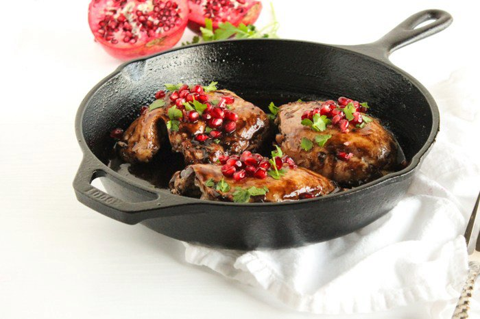 Pomegranate Balsamic Chicken